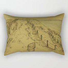Beacons Sketch Rectangular Pillow