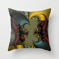wicked Throw Pillows featuring Wicked by Christy Leigh