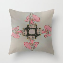 4 Boops 4 Marilyn Throw Pillow