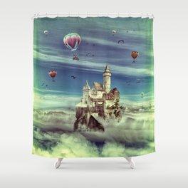 Laputa - Castle in the Sky Shower Curtain
