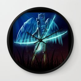 Luc Ready for Battle Wall Clock