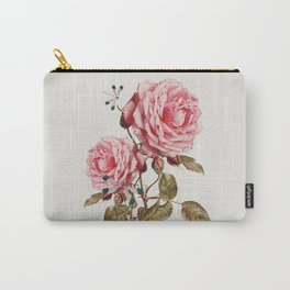 Dragonflies and Roses Carry-All Pouch