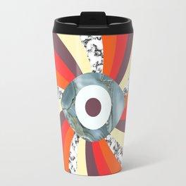 Hypno Retro Eye Travel Mug
