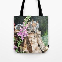 Woodland Visitor Tote Bag