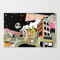 Amsterdam to Hollywood Canvas Print