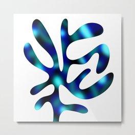 Seaweed Glow Ocean Metal Print