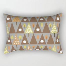 Abstraction . Autumn . Rectangular Pillow