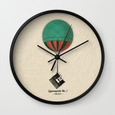 Gymnopedie No.1 - Erik Satie Wall Clock