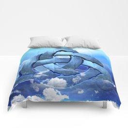 Sacred Geometry - Trinity 09 Comforters