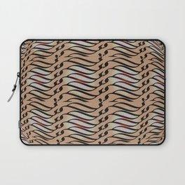 Weave in brown Laptop Sleeve
