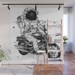 Moon Biker Wall Mural