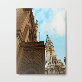 Philadelphia City Hall Metal Print