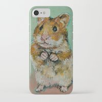 hamster iPhone & iPod Cases featuring Hamster by Michael Creese