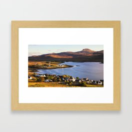 Dunvegan Evening Framed Art Print