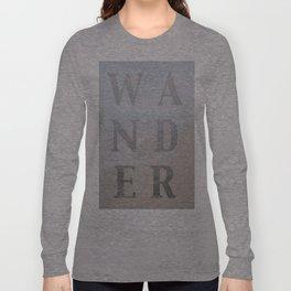 Wandering Long Sleeve T-shirt