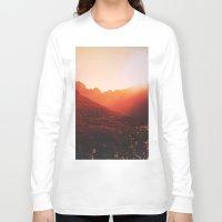mars Long Sleeve T-shirts featuring Mars. by Polishpattern