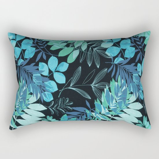 winter leaves Rectangular Pillow