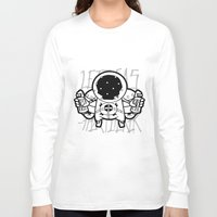 ghost world Long Sleeve T-shirts featuring Fart~Ghost by Seez