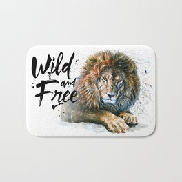 Lion Wild and Free Bath Mat