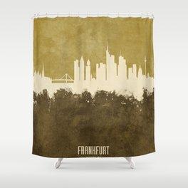 Frankfurt Germany Skyline Shower Curtain