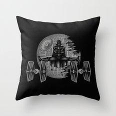 Epic Split Throw Pillow