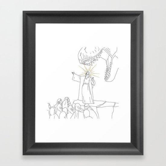 Jesus, Etc. (Alt) Framed Art Print