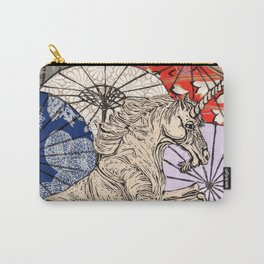 Unicorn Amongst Umbrellas XVII Carry-All Pouch