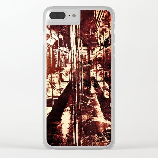 The Last Wagon Clear iPhone Case