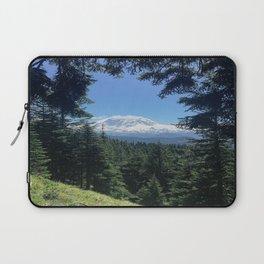 peek-a-boo Mount Rainier Laptop Sleeve