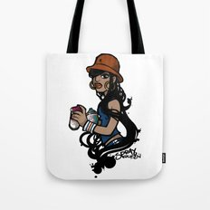 Spray Queen (Alternate T-shirt Version) Tote Bag