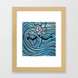 Orixás - Iemanja Framed Art Print