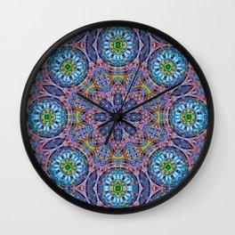 BBQSHOES: Kaleido-Fractal 1790 Wall Clock