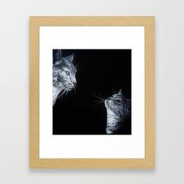 Tom and Kit Framed Art Print