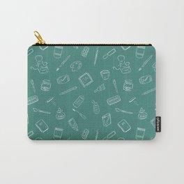Art Supplies Chalkboard Carry-All Pouch