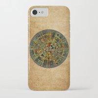 calendar iPhone & iPod Cases featuring Ancient Calendar by Klara Acel