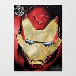 Avengers Reflection Canvas Print