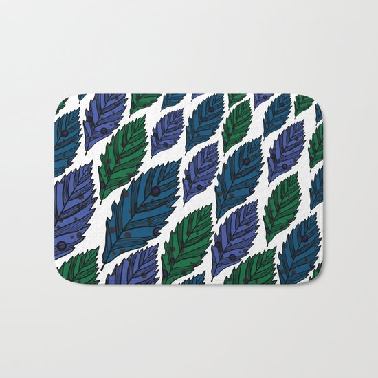 Leaf 10 Bath Mat