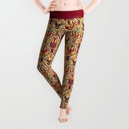 Kilim Fabric Leggings