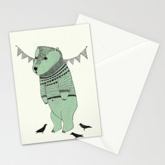 green bear Stationery Cards
