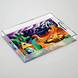 The Practical Deception by Vincent Monaco Acrylic Tray