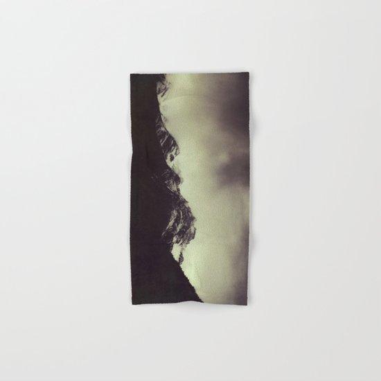 Shadow Mountain - Italian Alps Hand & Bath Towel