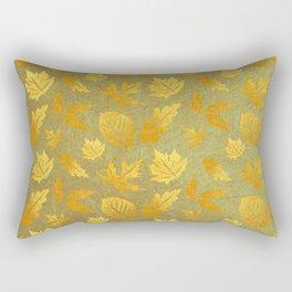 golden Autmn Rectangular Pillow