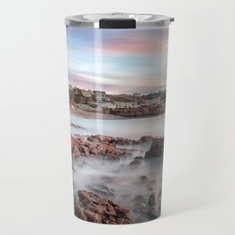 Langland Bay sunrise Travel Mug