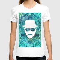 walter white T-shirts featuring Walter White by Lauren Miller