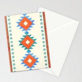 geometry navajo pattern no3 Stationery Cards