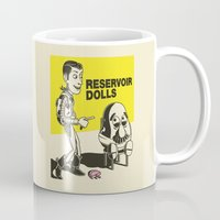 reservoir dogs Mugs featuring reservoir dolls  by tshirtsz