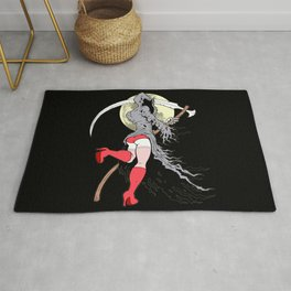 Death Becomes Her Rug