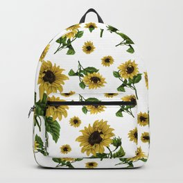 Sunflowers pattern Backpack