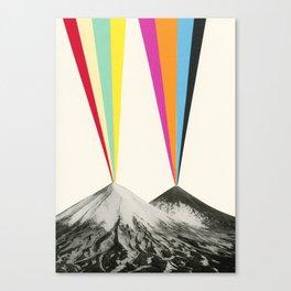 Volcanos Canvas Print
