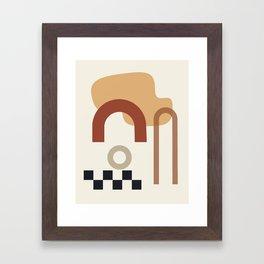 // Shape study #23 Framed Art Print